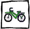 ikon for sykkel