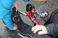 Tilpasning av sykkel på aktivitetshjelpemiddelopphold