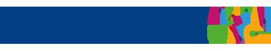 Bildet viser logoen til den Nasjonale kompetansetjenesten for barn og unge med funksjonsnedsettelser