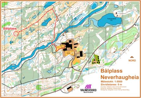 Kart Neverhaugheia