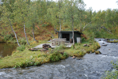 Gapahuken ved Hømmervatnet