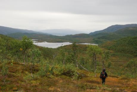 Utsikt mot Særervatnet og VHSS