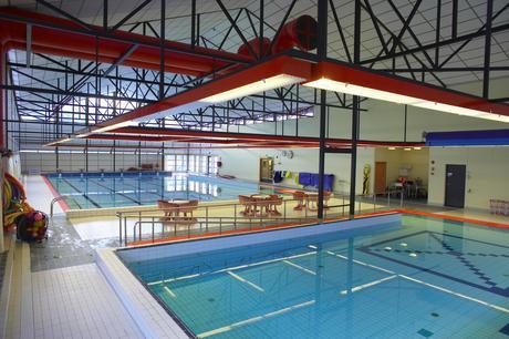 Bilde fra svømmehall